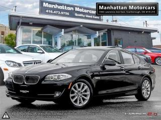 Used 2013 BMW 5 Series 528i X-DRIVE PREMIUM |BLUETOOTH|NOACCIDENT|43000KM for sale in Scarborough, ON