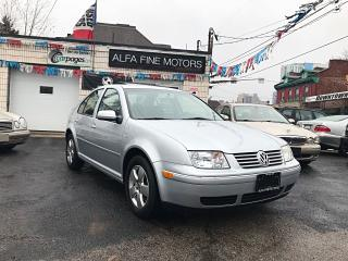 Used 2004 Volkswagen Jetta 1.8T LEATHER/SUNROOF LOW KM! ((CERTIFIED)) for sale in Hamilton, ON