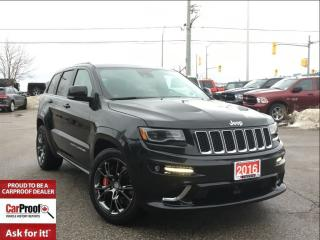 Used 2016 Jeep Grand Cherokee SRT**DUAL PANORAMIC SUNROOF**PREMIUM AUDIO** for sale in Mississauga, ON