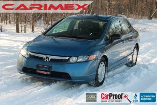 Used 2008 Honda Civic DX-G CERTIFIED for sale in Waterloo, ON