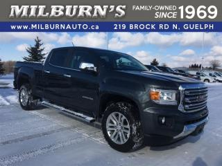 Used 2017 GMC Canyon SLT, LEATHER, REAR CAMERA for sale in Guelph, ON