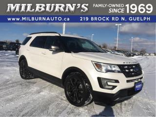 Used 2017 Ford Explorer XLT, NAVI, LEATHER, REAR CAMERA for sale in Guelph, ON