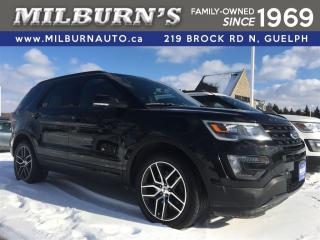 Used 2016 Ford Explorer SPORT, LEATHER, NAVI, REAR CAMERA for sale in Guelph, ON