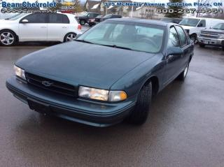 Used 1996 Chevrolet Impala SS for sale in Carleton Place, ON
