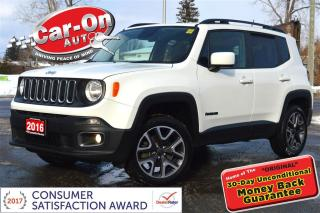 Used 2016 Jeep Renegade North 4X4 HTD SEATS ALLOYS BLUETOOTH REMOTE START for sale in Ottawa, ON
