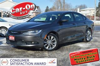 Used 2016 Chrysler 200 S LEATHER NAV PANO ROOF FULLY LOADED for sale in Ottawa, ON