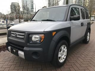 Used 2008 Honda Element 5SP, LOCAL, NO ACCIDENT, LOW KM for sale in Vancouver, BC