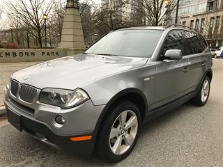 Used 2008 BMW X3 LOCAL,PANORAMIC SUN ROOF,NEW BRAKES,LOW KM for sale in Vancouver, BC