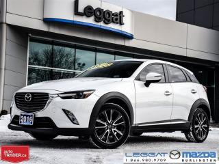 Used 2016 Mazda CX-3 GT AWD for sale in Burlington, ON