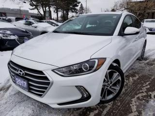 Used 2017 Hyundai Elantra GLS-Apple Auto-blind spot detection for sale in Mississauga, ON