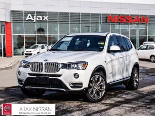 Used 2017 BMW X3 xDrive28i Leather*Alloys*Heated Seats for sale in Ajax, ON