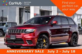 New 2018 Jeep Grand Cherokee Trackhawk Pano Sunroof.H/K Sound.Brembo Calipers.Blind Spot for sale in Thornhill, ON