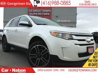 Used 2013 Ford Edge SEL SPORT| CLEAN CARPROOF | NAVI | LEATHER | for sale in Georgetown, ON
