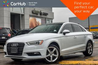 Used 2015 Audi A3 TDI Komfort |Diesel|Sunroof|Leather|HeatFrntSeats|KeylessEntry|17