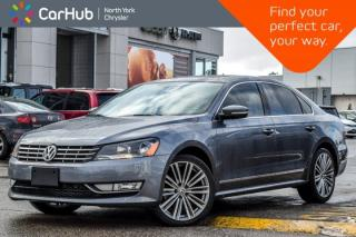 Used 2015 Volkswagen Passat Comfortline |Sunroof|Back-UpCam|Leather|HeatFrntSeats|18