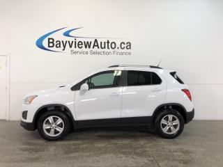 Used 2013 Chevrolet Trax LT- TURBO|AWD|ALLOYS|A/C|ON STAR|CRUISE|LOW KM! for sale in Belleville, ON