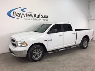 Used 2014 Dodge Ram 1500 SLT- ECODIESEL|CREW|CHROMES|REV CAM|UCONNECT! for sale in Belleville, ON