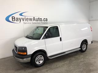 Used 2016 GMC Savana 2500 - 4.8L! A/C! CRUISE! CLEAN CARPROOF! LOW KM! for sale in Belleville, ON