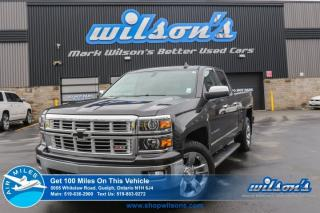 Used 2015 Chevrolet Silverado 1500 LTZ 4X4 DOUBLE CAB! NAV! LEATHER! TOW PKG! REAR CAM! REMOTE START! HEATED SEATS! CRUISE CONTROL! for sale in Guelph, ON