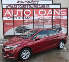 Used 2017 Chevrolet Cruze LT Auto LT-ALL CREDIT ACCEPTED for sale in Scarborough, ON