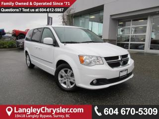 Used 2016 Dodge Grand Caravan Crew <b>*ACCIDENT FREE*STOW 'N GO*POWER GRP*<b> for sale in Surrey, BC