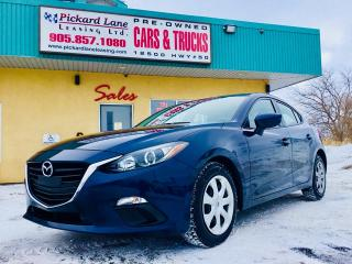 Used 2015 Mazda MAZDA3 GX JUST ARRIVED!!!$124.80 BI WEEKLY! $ 0 DOWN! for sale in Bolton, ON
