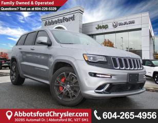 Used 2016 Jeep Grand Cherokee SRT *ACCIDENT FREE* *LOCALLY DRIVEN* for sale in Abbotsford, BC