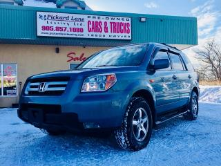 Used 2008 Honda Pilot SE $214.70 BI WEEKLY! $0 DOWN! CERTIFIED! for sale in Bolton, ON