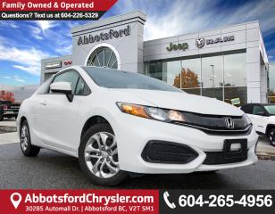 Used 2014 Honda Civic LX *ACCIDENT FREE* *LOCALLY DRIVEN* for sale in Abbotsford, BC