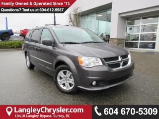 Used 2016 Dodge Grand Caravan Crew <B>*ACCIDENT FREE*2nd Row STOW 'N GO Bucket Seats*<b> for sale in Surrey, BC