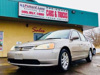 Used 2001 Honda Civic LX-G for sale in Bolton, ON