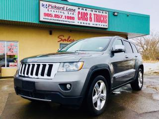 Used 2012 Jeep Grand Cherokee Overland JUST ARRIVED! for sale in Bolton, ON