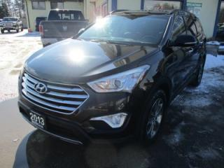 Used 2013 Hyundai Santa Fe LOADED XL EDITION 7 PASSENGER 3.3L - V6.. AWD.. BENCH & 3RD ROW.. LEATHER.. HEATED SEATS.. BACK-UP CAMERA.. POWER SUNROOF.. for sale in Bradford, ON