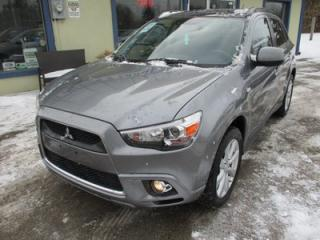 Used 2012 Mitsubishi RVR LOADED GT EDITION 5 PASSENGER 2.0L - DOHC.. AWC.. BLUETOOTH.. POWER SUNROOF.. HEATED SEATS.. KEYLESS START.. for sale in Bradford, ON