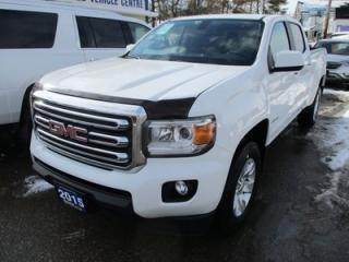 Used 2015 GMC Canyon 'LIKE NEW' SLE MODEL 5 PASSENGER 3.5L - V6.. TWO-WHEEL DRIVE.. CREW.. SHORTY.. BLUETOOTH.. USB/AUX INPUT.. BACK-UP CAMERA.. for sale in Bradford, ON
