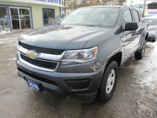 Used 2015 Chevrolet Colorado POWER EQUIPPED LT MODEL 5 PASSENGER 2.5L - DOHC.. TWO-WHEEL DRIVE.. CREW.. SHORTY.. USB/AUX INPUT.. BACK-UP CAMERA.. BLUETOOTH SYSTEM.. for sale in Bradford, ON