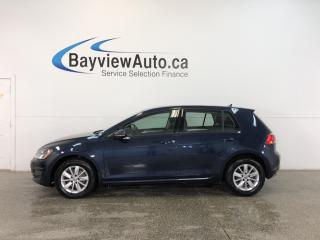 Used 2015 Volkswagen Golf TRENDLINE- TDI|AUTO|ALLOYS|HTD STS|A/C|BLUETOOTH! for sale in Belleville, ON