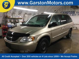 Used 2004 Chrysler Town & Country KEYLESS ENTRY*LEATHER*POWER SUNROOF*POWER HEATED FRONT SEATS*POWER FRONT WINDOWS/LOCKS/MIRRORS/3rd ROW VENTILATING WINDOWS*TRI ZONE CLIMATE CONTROL*AM/FM/CD/TAPE*READ DVD PLAYER*ROOF RACK*TRAILER HITCH*FOG LIGHTS* for sale in Cambridge, ON