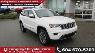 New 2018 Jeep Grand Cherokee Limited for sale in Surrey, BC