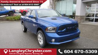 New 2018 Dodge Ram 1500 Sport for sale in Surrey, BC