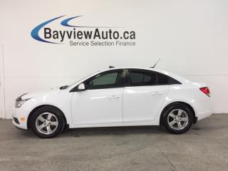 Used 2014 Chevrolet Cruze - TURBO|6 SPD|ALLOYS|ROOF|LTHR|MY LINK|PIONEER! for sale in Belleville, ON
