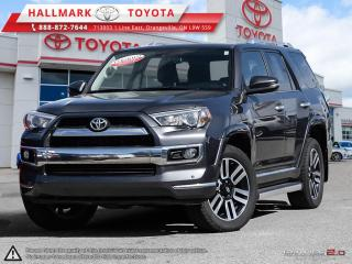 Used 2016 Toyota 4Runner SR5 V6 5A WOW NICE CLEAN LIMITED PACKAGE AWD. MUST TEST DRIVE for sale in Mono, ON