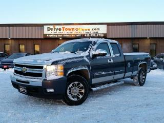 Used 2011 Chevrolet Silverado 1500 LT EXTENDED CAB 4X4 Z71 **8FT BOX** for sale in Gloucester, ON