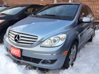 Used 2007 Mercedes-Benz B200 Panoramic Roof/Heated Seats/4 Cylinder/Alloys for sale in Scarborough, ON