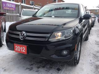 Used 2012 Volkswagen Tiguan AUX Input/Heated Seats/Alloys/Excellent Condition for sale in Scarborough, ON