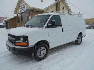 Used 2013 Chevrolet Express 2500 CARGO 2500HD 4.8L Rack Divider Shelving 127,000KMs for sale in Etobicoke, ON