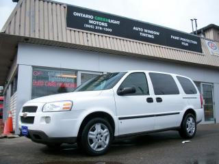 Used 2008 Chevrolet Uplander CARGO,SUPER LOW KM,DIVIDER for sale in Mississauga, ON