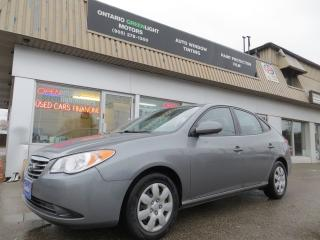 Used 2010 Hyundai Elantra ALL POWERED,A/C,MANUAL TRANSMISSION for sale in Mississauga, ON