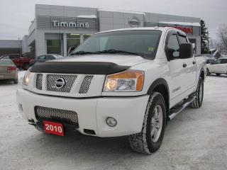 Used 2010 Nissan Titan Pro-4X for sale in Timmins, ON
