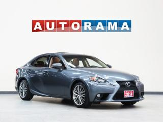 Used 2014 Lexus IS 250 NAVIGATION LEATHER SUNROOF BACKUP CAMERA 4WD for sale in North York, ON